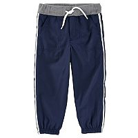 Toddler Boy OshKosh B'gosh® Striped Navy Active Pants