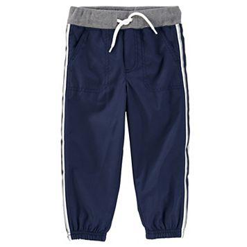 Toddler Boy OshKosh B'gosh® Striped Navy Active Pants