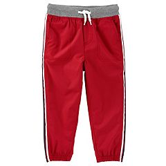 Toddler Boy OshKosh B'gosh® Striped Red Active Pants