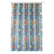 Caymen Medallion Shower Curtain