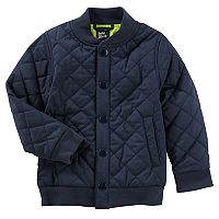 Toddler Boy OshKosh B'gosh® Quilted Bomber Jacket