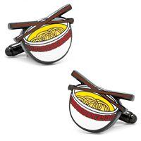 Noodle Bowl Cuff Links
