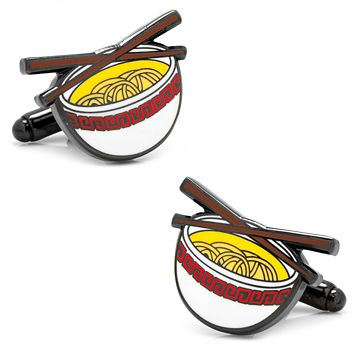 Noodle Bowl Cuff Links
