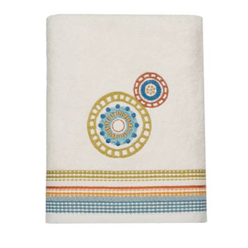 Caymen Embroidered Bath Towel