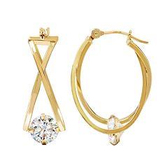 2624178bf02cb Cubic Zirconia Earrings, Jewelry | Kohl's