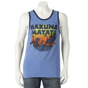 Men's Disney's The Lion King Hakuna Matata Tank Top