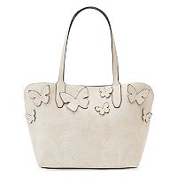 Mondani Kimona Butterfly Applique Satchel