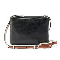 Mondani Brea Double Entry Crossbody Bag