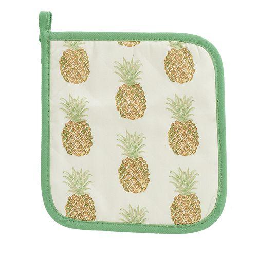 Laura Ashley Lifestyles Pineapple Pot Holder