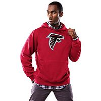 Men's Majestic Atlanta Falcons Tek Patch Fleece Hoodie