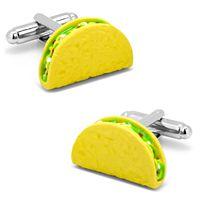3D Taco Cuff Links