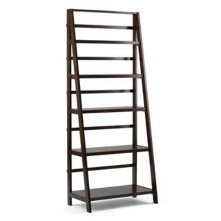 Simpli Home Acadian Ladder Bookshelf