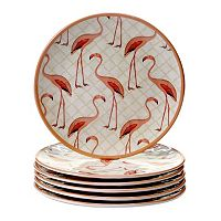 Certified International Floridian 6-pc. Salad Plate Set