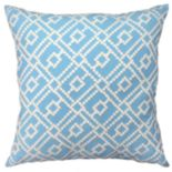 Geo Lattice Throw Pillow