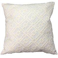 Geo Lattice Throw Pillow