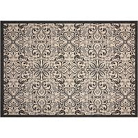 Nourison Caribbean Island Escape Scroll Indoor Outdoor Rug