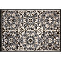 Nourison Caribbean Beach Life Medallion Indoor Outdoor Rug