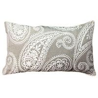 Paisley Oblong Throw Pillow
