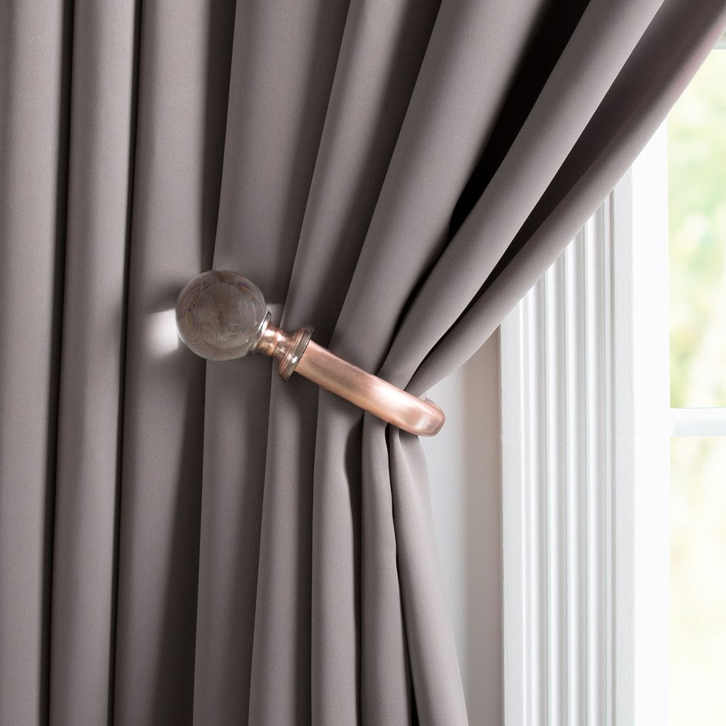 Portsmouth Home 2-pack Crystal Ball Curtain Holdback