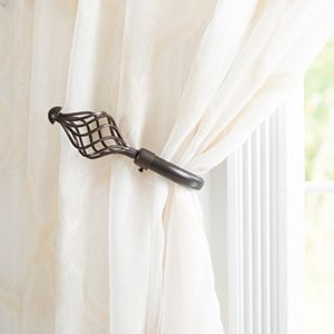 Portsmouth Home 2-pack Twisted Curtain Holdback