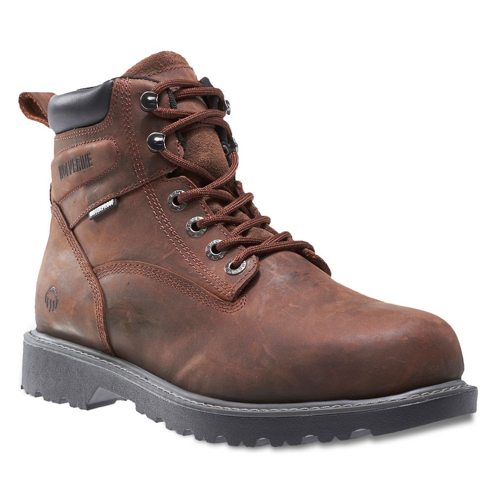 Wolverine Floorhand Men's Steel Toe Waterproof Work Boots