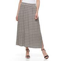 Petite Dana Buchman Midi Skirt