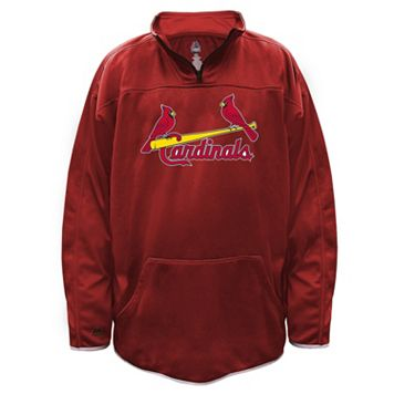 Big & Tall Majestic St. Louis Cardinals Birdseye Pullover