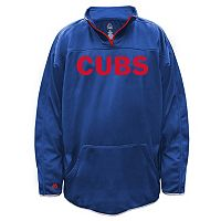 Big & Tall Majestic Chicago Cubs Birdseye Pullover