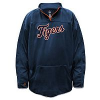 Big & Tall Majestic Detroit Tigers Birdseye Pullover
