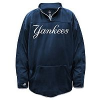 Big & Tall Majestic New York Yankees Birdseye Pullover