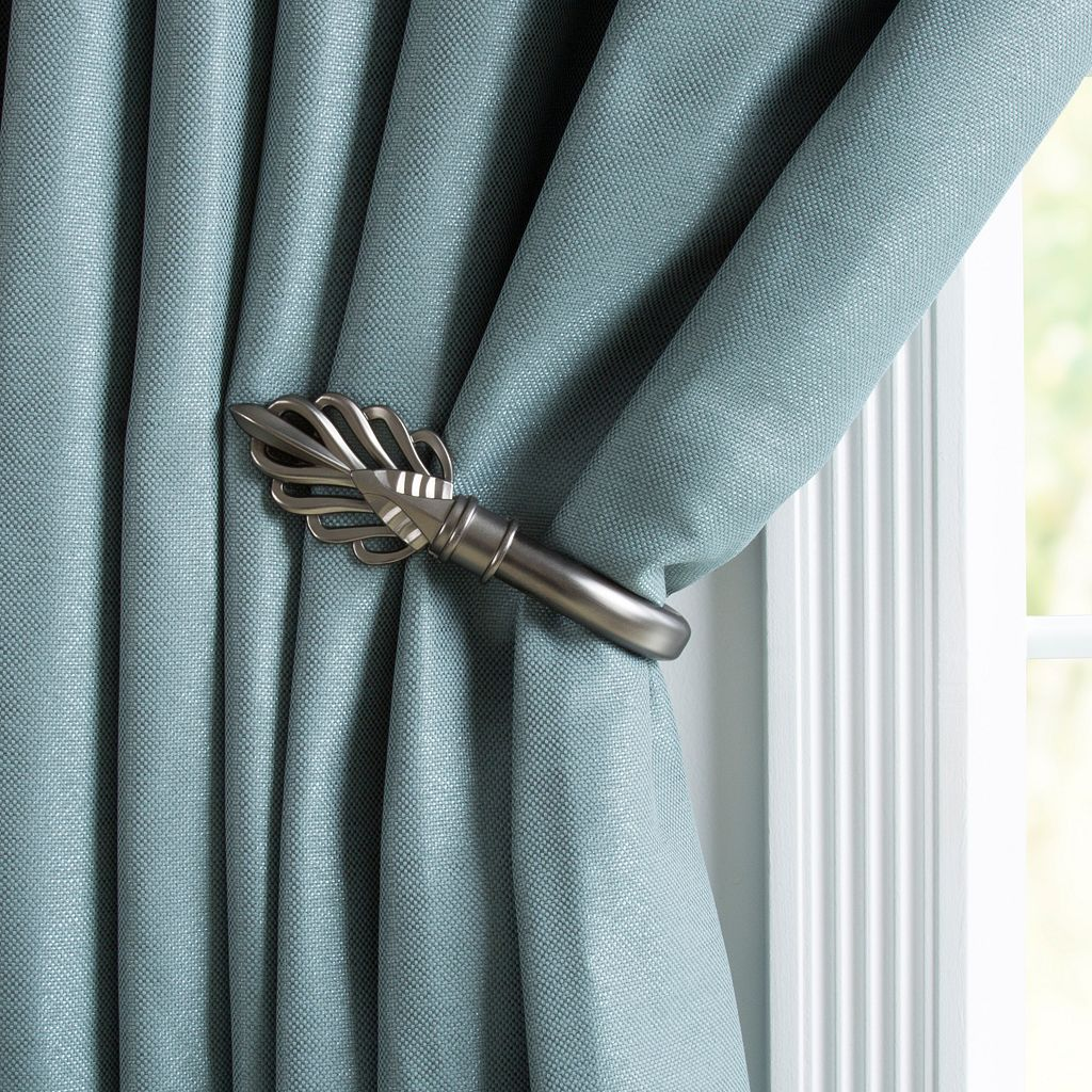 Portsmouth Home 2-pack Leaf Curtain Holdback