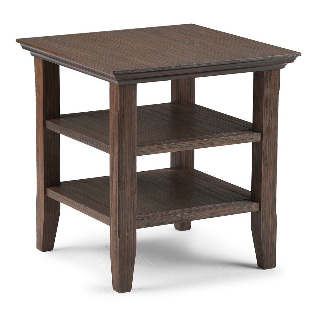 Simpli Home Acadian End Table