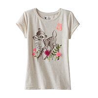 Disney's Bambi Toddler Girl Flower Applique Tee by Jumping Beans®