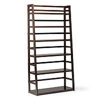 Simpli Home Acadian Wide Bookshelf