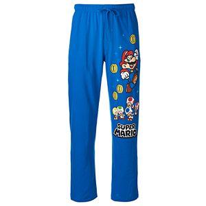 Men's Super Mario Bros. Characters Lounge Pants