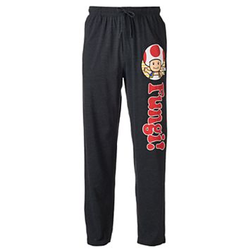 Men's Super Mario Bros. Mushroom Lounge Pants