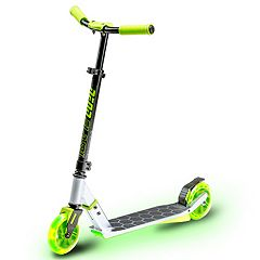 Neon Flash LED Light-Up Scooter - Green