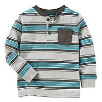 Toddler Boy OshKosh B'gosh® Striped Henley