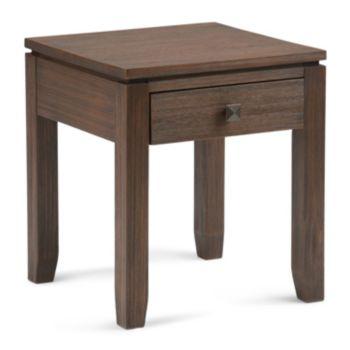 Simpli Home Cosmopolitan 1-Drawer End Table