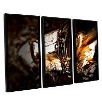 ArtWall Mend Rope & Tree Framed Wall Art 3 pc Set