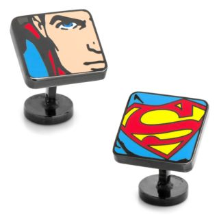 DC Comics Superman Comic Squares Cufflinks