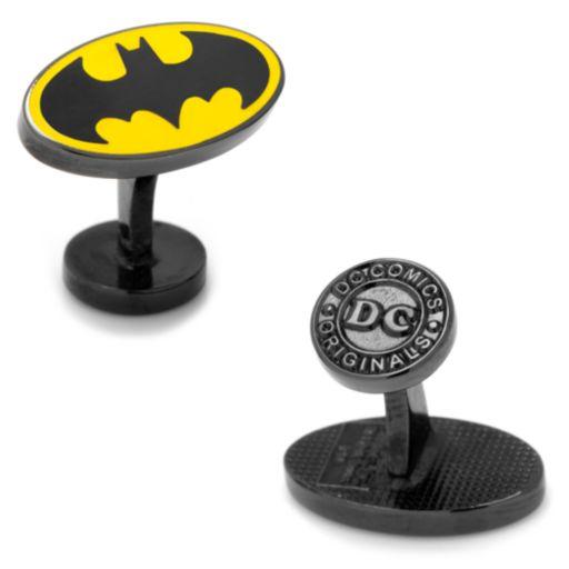 DC Comics Batman Logo Cuff Links