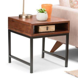 Simpli Home Riordan End Table