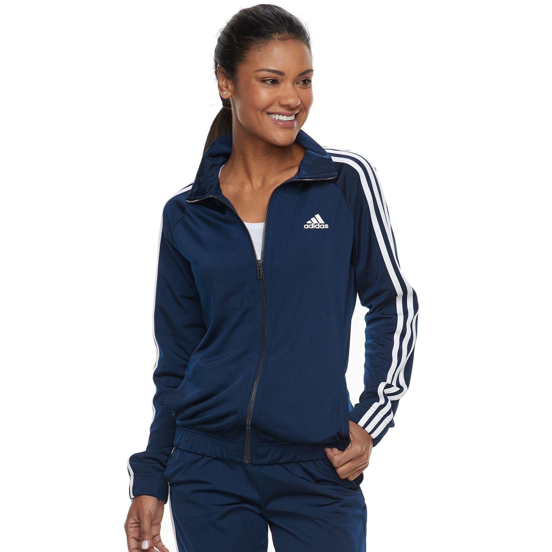 adidas zip up jacket women's