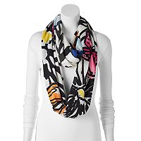 REED Sunflower & Butterfly Infinity Scarf