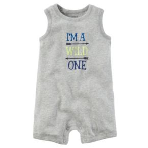 Baby Boy Carter's Graphic Sleeveless Romper