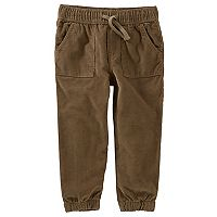 Toddler Boy OshKosh B'gosh® Pull On Lined Jogger Corduroy Pants