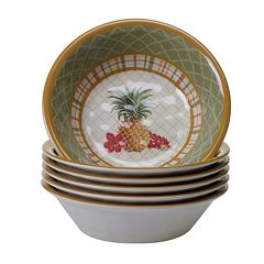 Certified International Floridian 6 pc All-Purpose Bowl Set