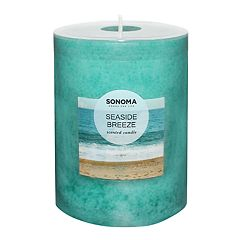 SONOMA Goods for Life™ Seaside Breeze 4' x 3' Pillar Candle