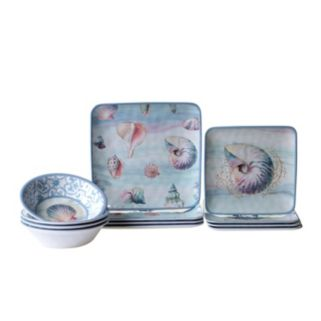 Certified International Ocean Dream 12-pc. Dinnerware Set